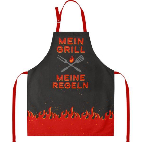 Grillschürze Mein Grill- Meine Regeln.