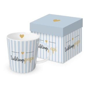 Tasse in Geschenkbox Lieblingspapi