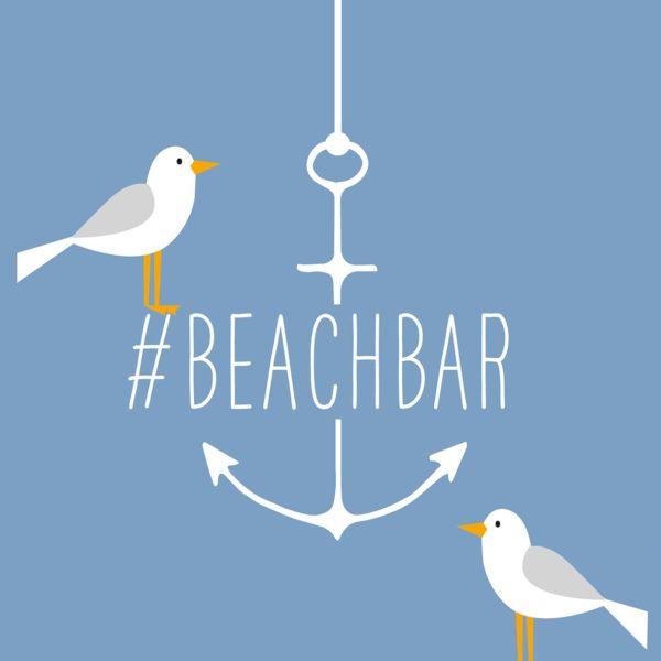 Cocktail-Servietten Beachbar