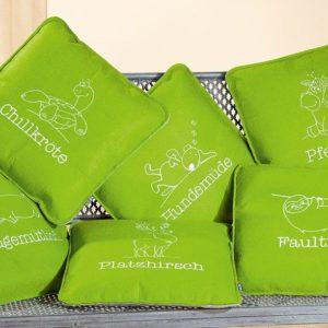 Kissen Grün Platzhirsch