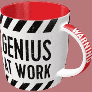Tasse Genius at work
