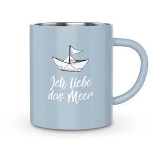 Thermobecher Liebe Meer