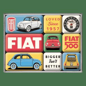 Magnet-Set Fiat 500